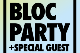 [PIAS] NITES feat. Bloc Party & very special guest